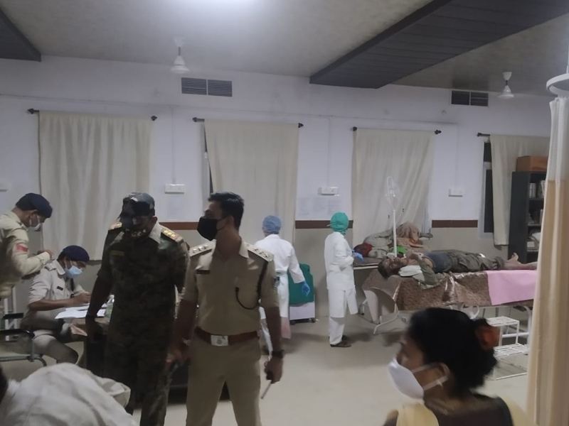 MP News: बालाघाट जिले में हादसा, निर्माण के दौरान गिरा स्लैब, 12 मजदूर घायल