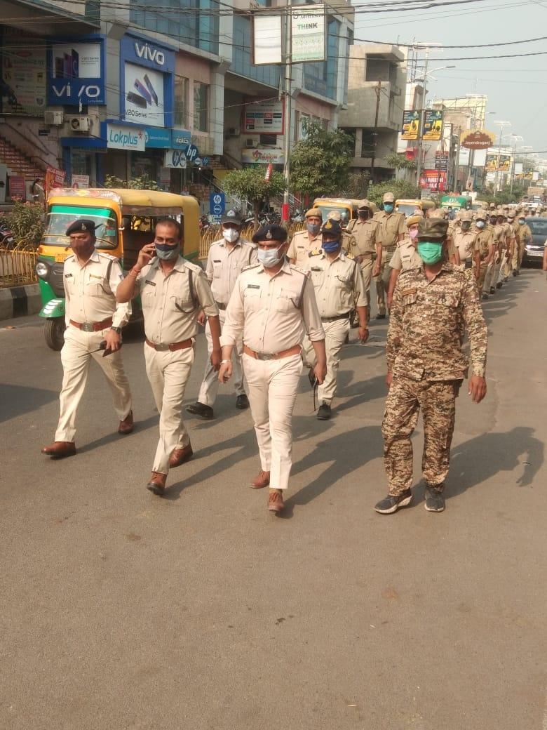 Gwalior By-Elections: ग्वालियर में आज सीएम सहित कई दिग्गज नेताओं का मेगा रोड शो, पुलिस ने निकाला फ्लेग मार्च