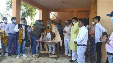 माझी समाज ने किया राज्यसभा सदस्य कैलाश सोनी का सम्मान