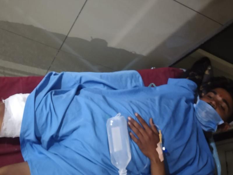 रतलाम जिले में विवाह समारोह में हर्ष फायर से छह लोग घायल