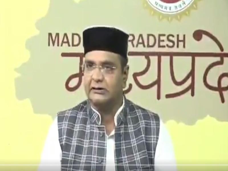 मध्य प्रदेश के मंत्री विश्वास सारंग ने महंगाई के लिए नेहरू के भाषण को बताया जिम्मेदार, गर्माई राजनीति