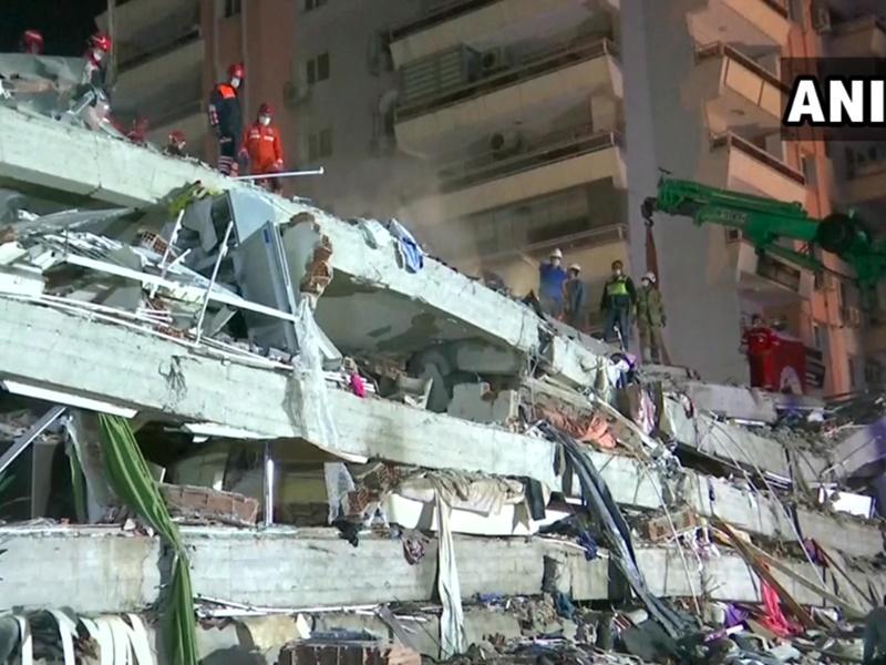 Earthquake: तुर्की और ग्रीस में भूकंप से भीषण तबाही, 17 की मौत, सैकड़ों घायल