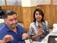 Neetu Kapoor का तमिल टंग ट्विस्टर सुनकर Rishi Kapoor को आई हंसी, देखें VIDEO
