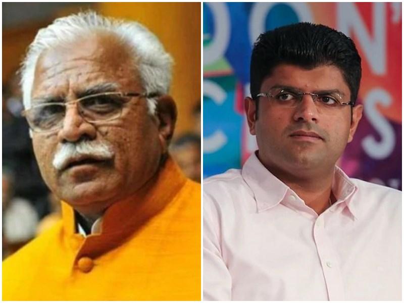 Haryana New Government: मनोहर लाल खट्टर ने ली CM पद की शपथ, दुष्यंत चौटाला बने डिप्टी सीएम