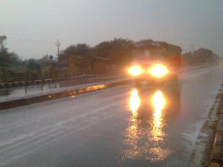 बारिश ने भारतीय टीम को अभ्यास मैच के पहले दिन रोका