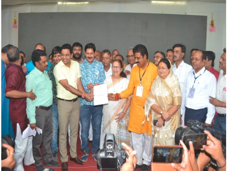 Indore Lok Sabha Election Result 2019 : इंदौर से भाजपा के शंकर लालवानी की रिकॉर्ड जीत