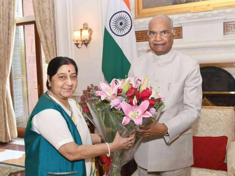 सुषमा स्वराज को राष्ट्रपति, उपराष्ट्रपति, गौतम गंभीर, सिंधिया, नड्डा, गहलोत ने दी श्रद्धांजलि, कही यह बात