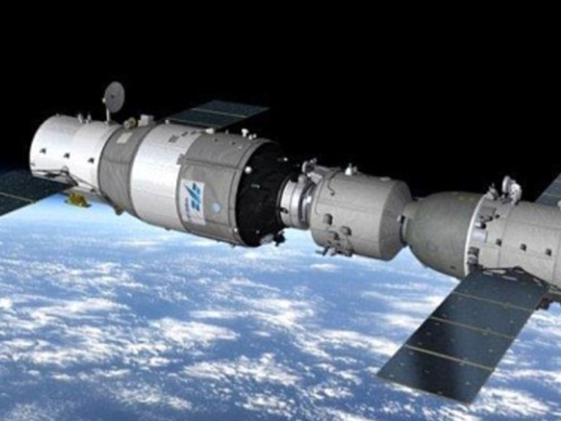 Another Chinese Space Station Just Fell to Earth